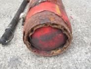 消火器(溶接部とその周辺の腐食)