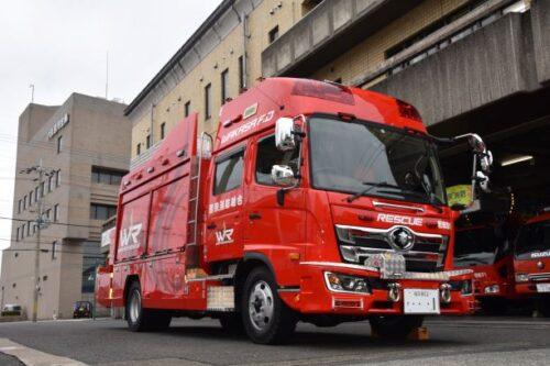 救助工作車(若狭消防署)