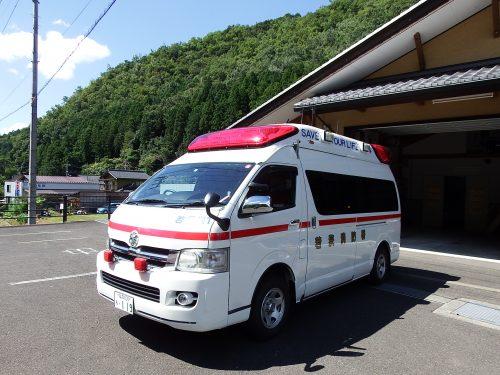名田庄救急車