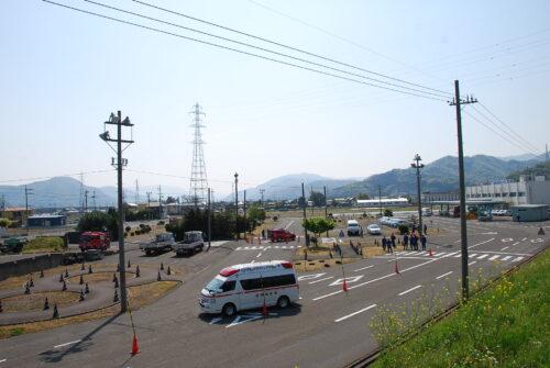 消防職員緊急自動車運転技術研修会を開催